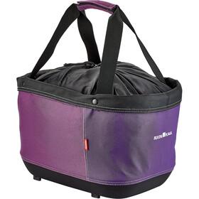 KlickFix Shopper Alingo GT Bagagedrager Winkelmand voor Racktime, violet